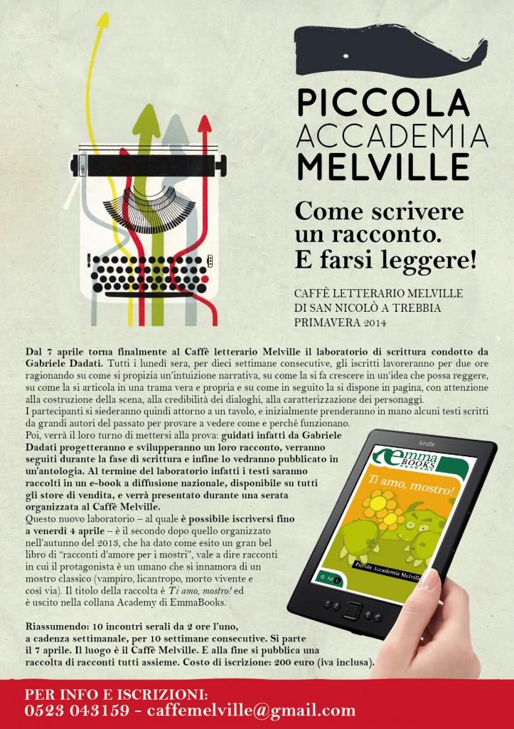 piccola accademia melville_locandina A4